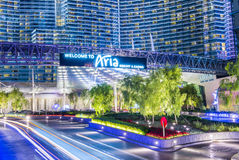 Las Vegas Aria Royalty Free Stock Photography