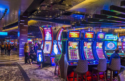 Las Vegas Aria Stock Image