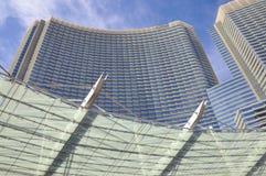Las Vegas Aria Resort royalty free stock images