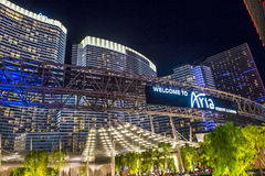 Las Vegas Aria Royalty Free Stock Photos
