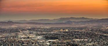 Las Vegas au coucher du soleil Images libres de droits