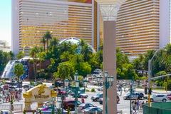 Siren s cove Boulevard Las Vegas royalty free stock photos