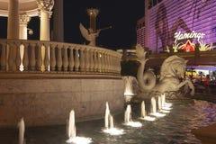 LAS VEGAS - AUGUSTUS 3: De Strookmening van Las Vegas op 3 Augustus, 2007 binnen Royalty-vrije Stock Afbeelding