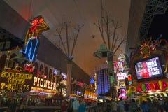 LAS VEGAS - AUGUSTUS 3: De Strookmening van Las Vegas op 3 Augustus, 2007 binnen Royalty-vrije Stock Foto's