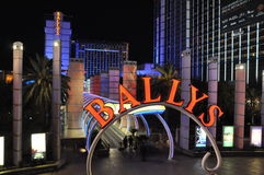 Las Vegas Bally Image stock