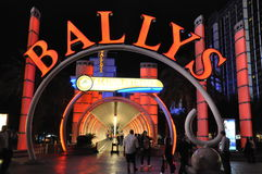 Las Vegas Bally Photographie stock libre de droits