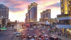 Las Vegas. Beautiful sunset in Las Vegas Nevada Royalty Free Stock Image