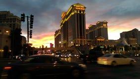 Las Vegas. Beautiful sunset in Las Vegas Nevada Stock Photo