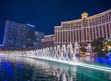 Las Vegas , Bellagio fountains Royalty Free Stock Image