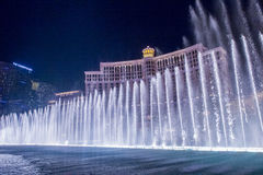 Las Vegas , Bellagio fountains Stock Images