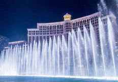 Las Vegas , Bellagio fountains Stock Photography
