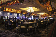 Las Vegas Bellagio Hotel Casino Stock Image