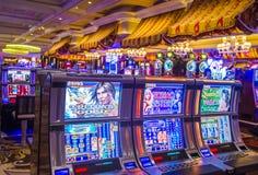 Las Vegas , Bellagio. LAS VEGAS - MAY 21 : The interior of Bellagio hotel and casino on May 21 , 2016 in Las Vegas. Bellagio is a luxury hotel and casino located stock photo