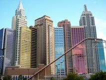 Las Vegas berg-och dalbana Arkivbild