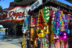 Las Vegas Big Beads and Necklaces Stock Images