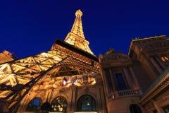 Las Vegas bij nacht Royalty-vrije Stock Foto's