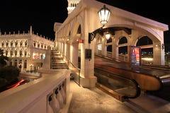 Las Vegas bij nacht Stock Fotografie