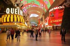 Las Vegas bij Nacht Royalty-vrije Stock Fotografie