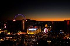 Las Vegas bij sunsrise Stock Afbeelding