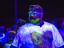 Las Vegas Blacklight Run Royalty Free Stock Photography