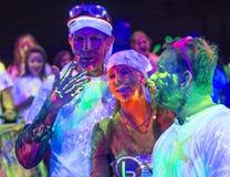 Las Vegas Blacklight Run Royalty Free Stock Images