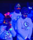 Las Vegas Blacklight Run Stock Photo