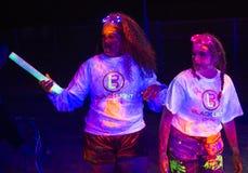 Las Vegas Blacklight Run Royalty Free Stock Image