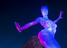 Las Vegas Bliss Dance Immagini Stock Libere da Diritti