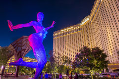 Las Vegas Bliss Dance Fotografia de Stock Royalty Free