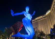 Las Vegas Bliss Dance Imagem de Stock Royalty Free