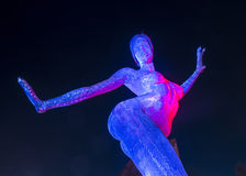 Las Vegas the Bliss Dance Royalty Free Stock Image
