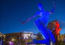 Las Vegas the Bliss Dance Stock Images