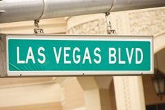 Las Vegas Blvd imágenes de archivo libres de regalías