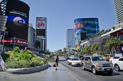 Las Vegas Blvd Royalty Free Stock Image