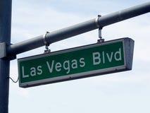 Las Vegas Blvd foto de archivo libre de regalías