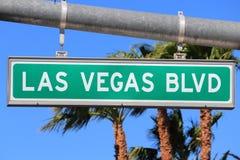 Las Vegas Blvd imagen de archivo libre de regalías