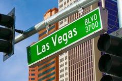 Las Vegas Blvd imagen de archivo