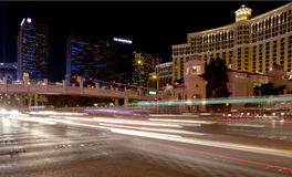 Las Vegas Blvd La foto ha fatto il 9 agosto 2012 Fotografia Stock Libera da Diritti