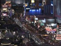 Las Vegas Blvd Night Stock Images