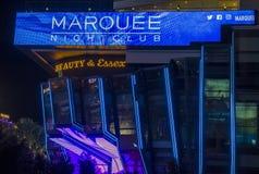Las Vegas, boîte de nuit de chapiteau Photographie stock