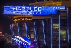 Las Vegas, boîte de nuit de chapiteau Photo stock