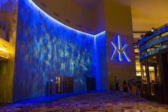 Las Vegas, boîte de nuit de Hakkasan Photo libre de droits