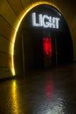 Las Vegas, boîte de nuit légère Photographie stock