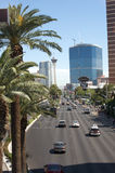 Las Vegas Boulevard Photo stock