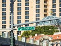 Las Vegas Boulevard Immagini Stock
