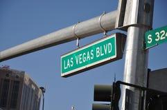 Las Vegas Boulevard Photo stock