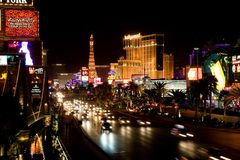 Las Vegas Boulevard Royalty Free Stock Photography