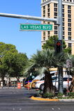 Las Vegas Boulevard Stock Photo