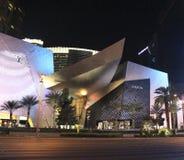Las Vegas Boulevard di notte Fotografia Stock