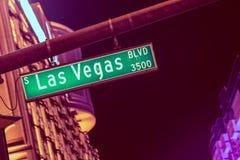 Las Vegas Boulevard Royalty Free Stock Photography